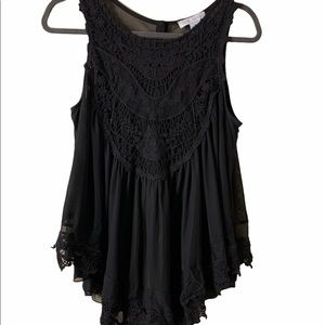 Paradiso lace top